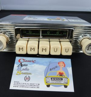 Blaupunkt Radio Universal for small cars 1953 – 1959